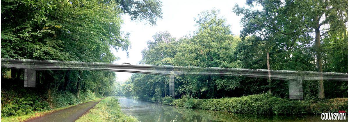 Un viaduc à la place du passage à niveau